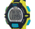 Timex Men's 30-Lap Rugged Sports Watch - Blue/Lime Green  3