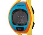 Timex Sleek 50 Sports Watch - Yellow/Black/Blue 3