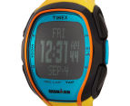 Timex Sleek 150 Sports Watch - Yellow/Black/Blue 3