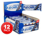 12 x Aussie Bodies Lo Carb Crunchy Protein Bars Blueberry 40g 1