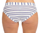 Jockey Comfort Classic Stripe Boyleg 2-Pack - Purple/White 5