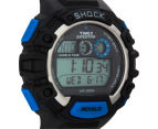 Timex Men's Expedition Global Shock Sports Watch - Black/Blue 2