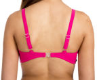 All About Ever Women's Bustier Soft Cup - Magenta 4