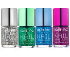 Nails Inc Jewellery Nail Polish 4pk - Diamond Arcade/Piccadilly Arcade/Royal Arcade/Princes Arcade 1