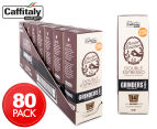 8 x Grinders Master Roasters Double Espresso Caffitaly Coffee Capsules 10pk 1