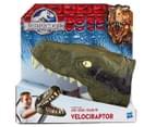 Jurassic World Chomping Dino Head - Velociraptor  1