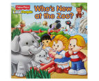 Fisher-Price Little People: Who's New At The Zoo Book 1