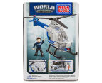 Mega Bloks World Builders NYPD Police Chopper 2