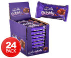 24 x Cadbury Dairy Milk Bubbly Milk Chocolate Bars 40g 1