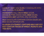 24 x Cadbury Dairy Milk Bubbly Milk Chocolate Bars 40g 3