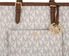 Michael Kors Jet Set Medium Logo Tote Bag - Vanilla 4