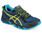 ASICS Men's GEL-Sonoma 2 G-TX Shoe - Poseidon/Safety Yellow/Black 2