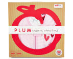 Plum 1.0 Tog Rabbit Sleep Bag - Pink/White 4