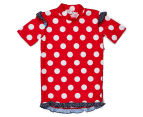Plum Girls' Short Sleeve Rashie - Nautical 1