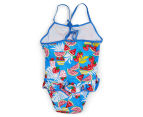 Plum Girls' Swimsuit - Fruit 2