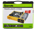 Gasmate Travelmate Stove - Yellow/Black  5