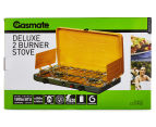 Gasmate Deluxe 2 Burner Stove - Yellow/Silver  6