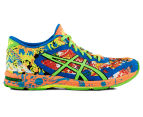 ASICS Men's GEL-Noosa Tri 11 Shoe - Hot Orange/Green Gecko/Electric Blue 1
