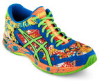 ASICS Men's GEL-Noosa Tri 11 Shoe - Hot Orange/Green Gecko/Electric Blue 2