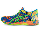 ASICS Men's GEL-Noosa Tri 11 Shoe - Hot Orange/Green Gecko/Electric Blue 3