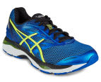 ASICS Men's GEL-Cumulus 18 Shoe - Imperial/Safety Yellow/Black 2