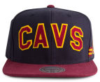 Mitchell & Ness Cavaliers Training Room Snapback - Navy/Maroon 1