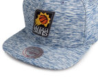Mitchell & Ness Suns Against The Grain Snapback - Blue/White 5