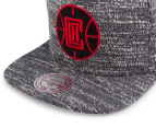 Mitchell & Ness Clippers Grey Noise Snapback - Multi 5