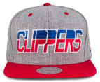 Mitchell & Ness Clippers NBA Snapback - Grey/Red/Blue 1