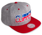 Mitchell & Ness Clippers NBA Snapback - Grey/Red/Blue 2