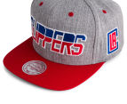 Mitchell & Ness Clippers NBA Snapback - Grey/Red/Blue 5
