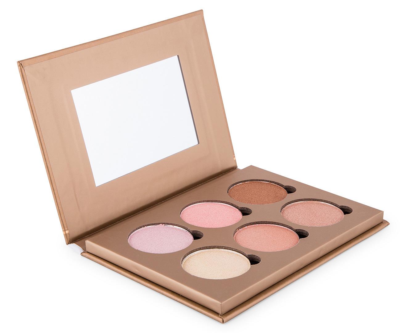 Αποτέλεσμα εικόνας για Bellapierre Cosmetics Glowing Palette