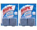 2 x Harpic Active Blue Foaming Freshener Block Twin Pack - 114g 1