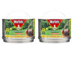 2 x Mortein Outdoor Mosquito Coils 30-Pack 360g 1
