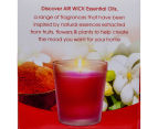 6 x Air Wick Natural Essential Oils Candle 100g - Oriental Elixir 5