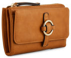 Cooper St Trinket Ring Front Wallet - Tan 2