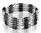 Mestige Mayan Link Chain - Black/Crystal 1