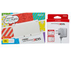 Nintendo 3DS Game Console Bundle Pack - White 6