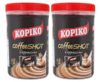 2 x Kopiko Cappuccino Coffee Shot Candy Jar 240g 1