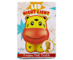 Gibson Tyson The Tiger LED Night Light - Yellow 6