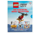 Lego City Essential Book Collection w/ Model 4