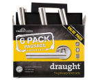 Trio Stainless Steel Lever Privacy Draught 6-Pack - Silver  1