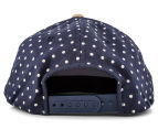 Flexfit Boy's Denim Circle Snapback - Navy 4