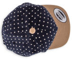 Flexfit Boy's Denim Circle Snapback - Navy 6