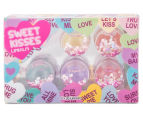 Sweet Kisses Lip Balms 5pk 1