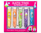 Bath Time Science Lab Confetti Tubes 5pk 1