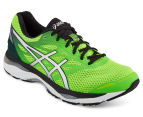 ASICS Men's Gel-Cumulus 18 Trainer - Green/Fluro Green/Black/White/Silver 2