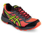 ASICS Women's Gel-FujiTrabuco 5 Running Shoe - Flash Coral/Safety Yellow/Black 2
