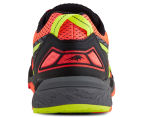 ASICS Women's Gel-FujiTrabuco 5 Running Shoe - Flash Coral/Safety Yellow/Black 4