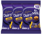 3 x Cadbury Dairy Milk Salted Caramel Chocolate 180g 12pk  1